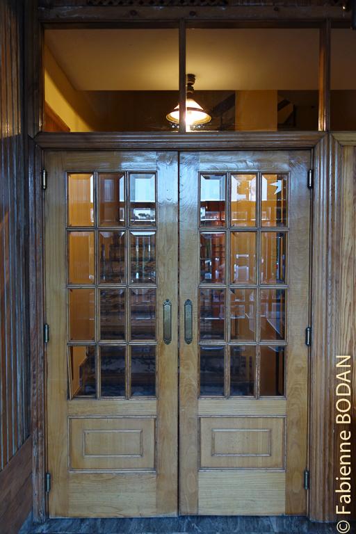 Entrée intérieure de l'hostal. Hostal/Restaurante Gamallo à Chantada, Camino del Invierno / Chemin de l'hiver © Fabienne Bodan