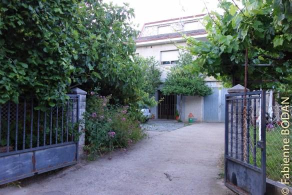 """Habitaciones """"Chez Socorro"""", à la sortie de Las Medulas © Fabienne Bodan"""