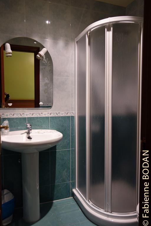 Salle de bains privative © Fabienne Bodan