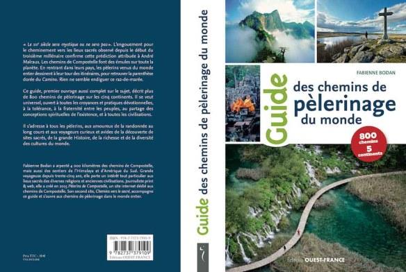 Guide des Chemins de pèlerinage du monde de Fabienne Bodan aux Éditions Ouest-France
