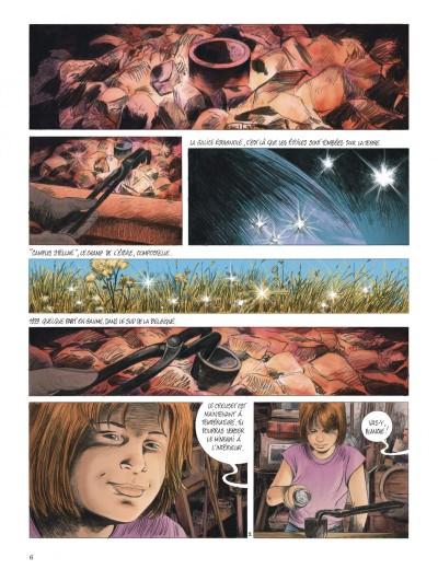"""Bande-dessinée """"Les chemins de Compostelle (Tome 1), «La petite licorne» de Jean-Claude Servais aux Editions Dupuis. Extrait 2."""