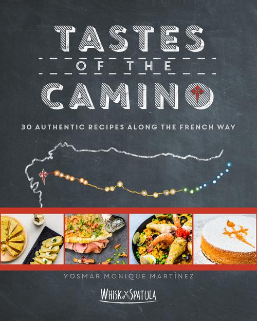 """Couverture du livre """"Tastes of the Camino"""" (30 recettes)"""