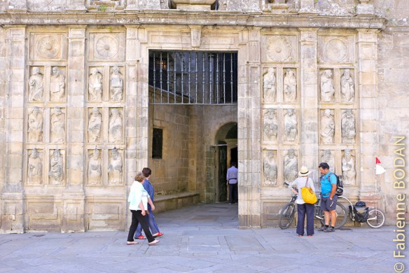 Porte Sainte Cathédrale de Saint-Jacques de Compostelle