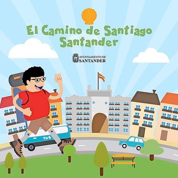 El camino de Santiago en Santander