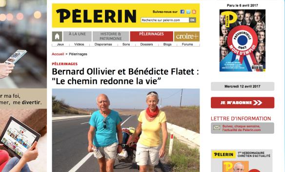 Magazine Pèlerin Chemin de pèlerinage