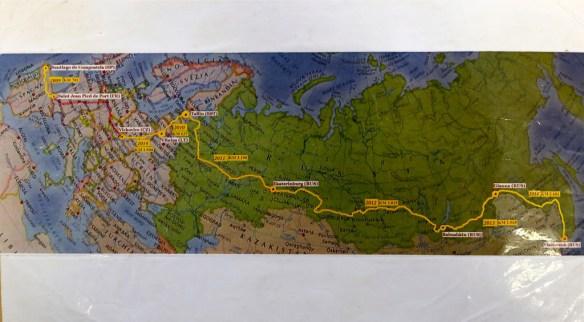 De Vladivostok à Saint-Jacques de Compostelle à pied