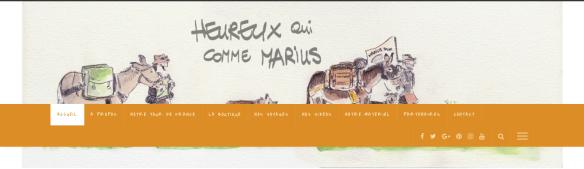 Heureux qui comme Marius, itinéraire d'un âne bâté