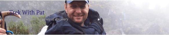 Pat Mc Menamim et l'Appalachian Trail