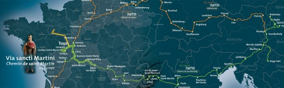 Un quatrième chemin de Martin : de Ligugé à Candes-Saint-Martin