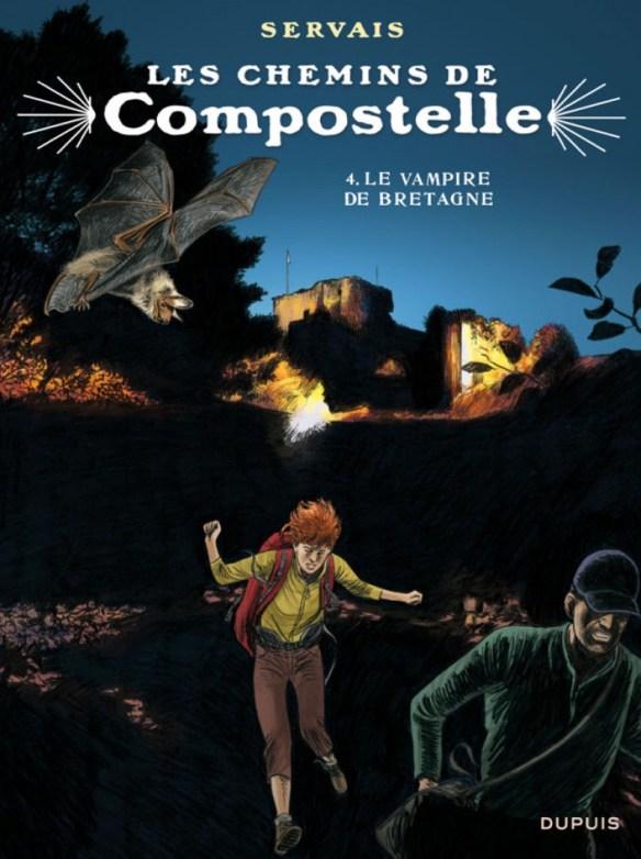 Le Vampire de Bretagne, BD de Jean-Claude Servais