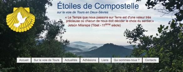 Association Les Etoiles de Compostelle Deux-Sèvres