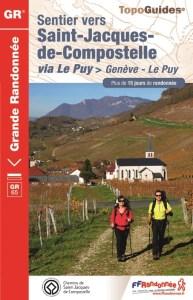 Via Gebennensis Genève Le Puy-en-Velay Topo Guide FFR