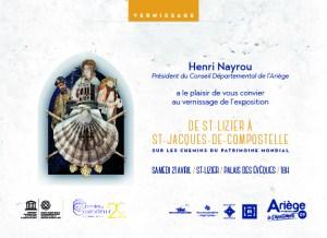 Exposition De Saint-Lizier à Saint-Jacques-de-Compostelle