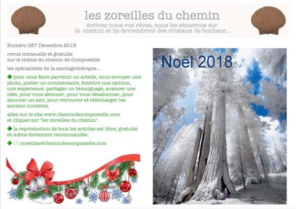 Les Zoreilles du Chemin N°87 Décembre 2018