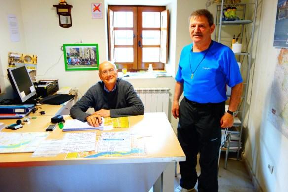 Marc Litrico, pèlerin de Compostelle et de Shikoku, et hospitalier des chemins de Compostelle