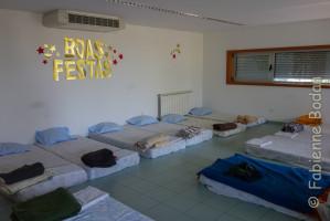 """Les dortoirs """"tout confort"""" de la Santa Casa de Misericordia. © Fabienne Bodan"""