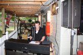 Jason Rocking the Keyboard