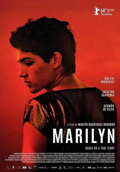 POSTER CINE PELICULA GAY Marilyn - Argentina - 2018