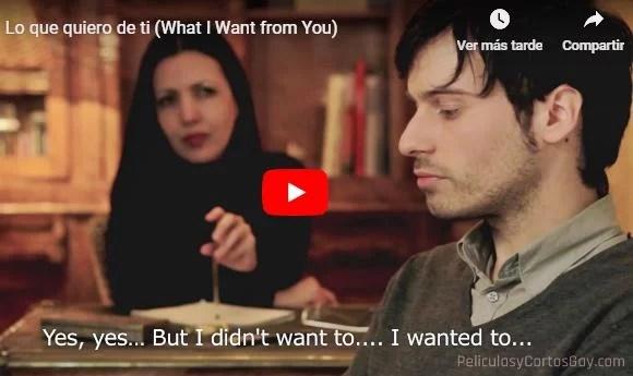 CLIC PARA VER VIDEO Lo que quiero de ti - España - 2012