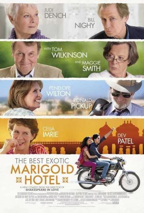El Exótico Hotel Marigold - PELICULA - Reino Unido - 2011