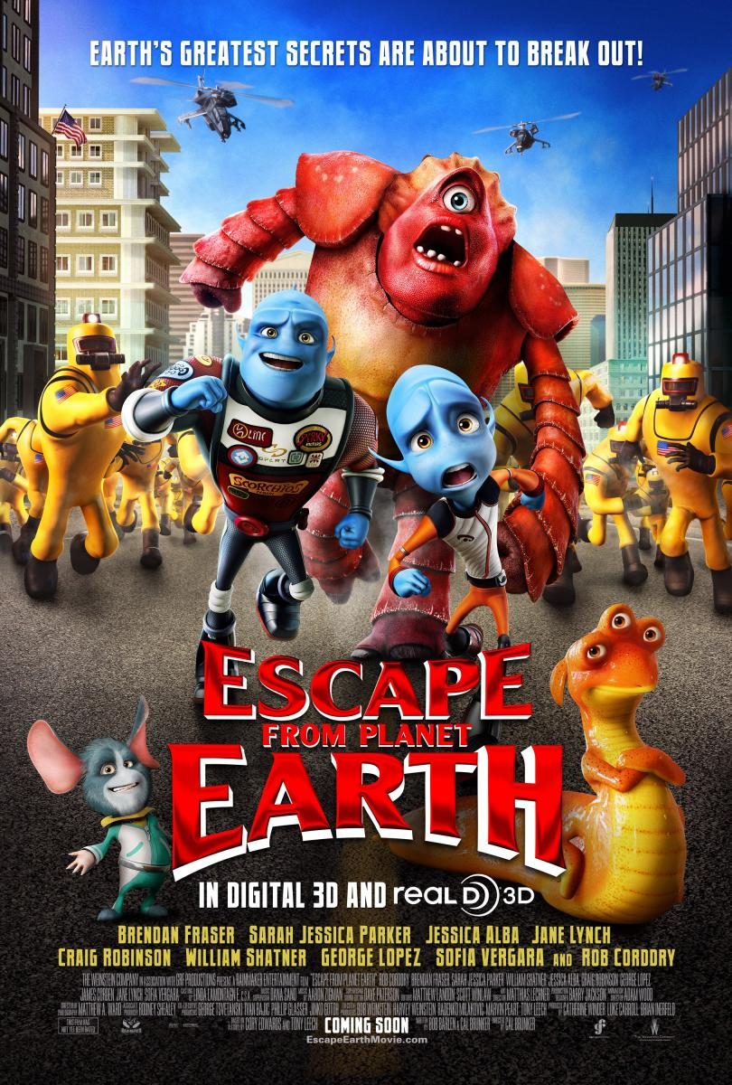 Operación escape - Escape from Planet Earth - Pelicula Online