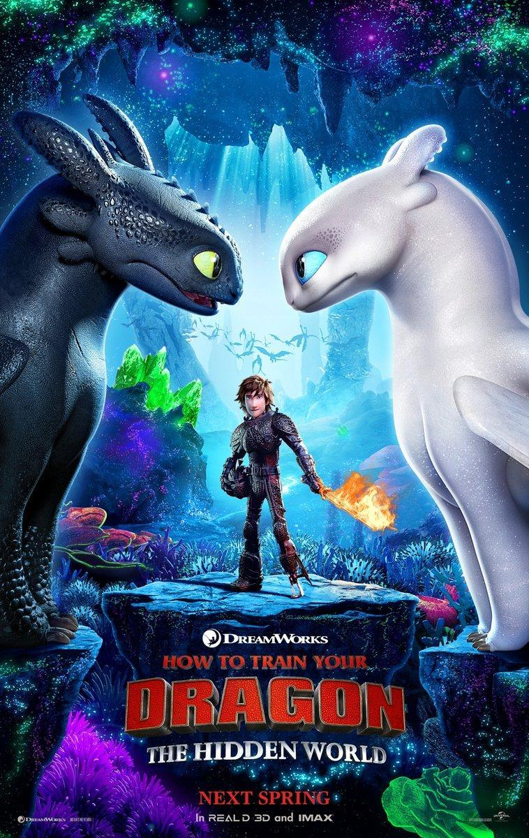 Cómo entrenar a tu dragón 3 - How To Train Your Dragon: The Hidden World - Película Online