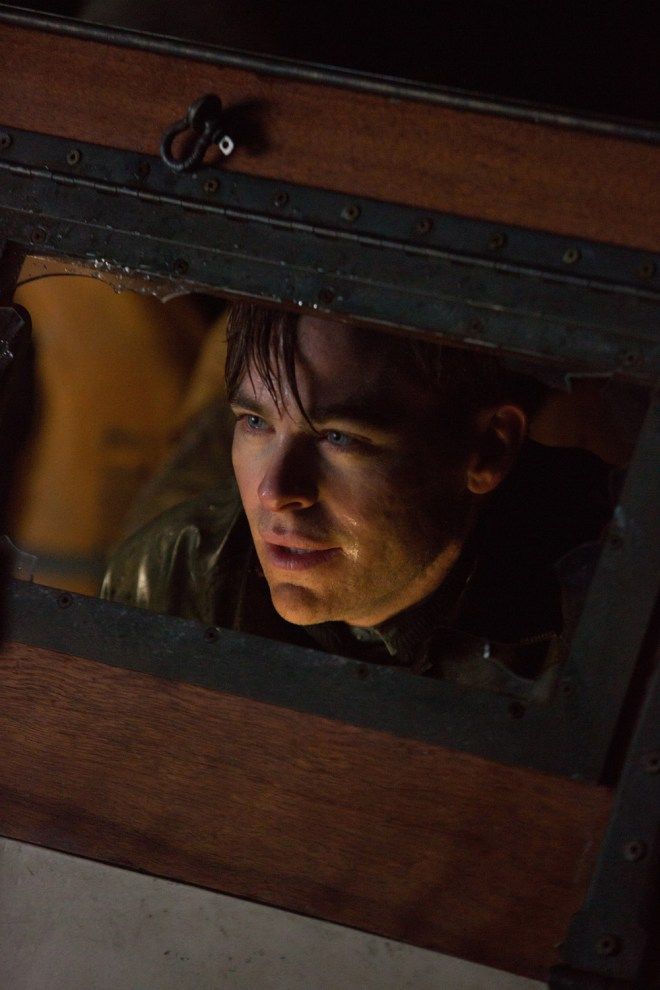 Chris Pine stars as Captain Bernie Webber in Disney's THE FINEST HOURS, the heroic action-thriller presented in Digital 3D (TM) and IMAX (c) 3D, based on the extraordinary true story of the most daring rescue mission in the history of the Coast Guard.