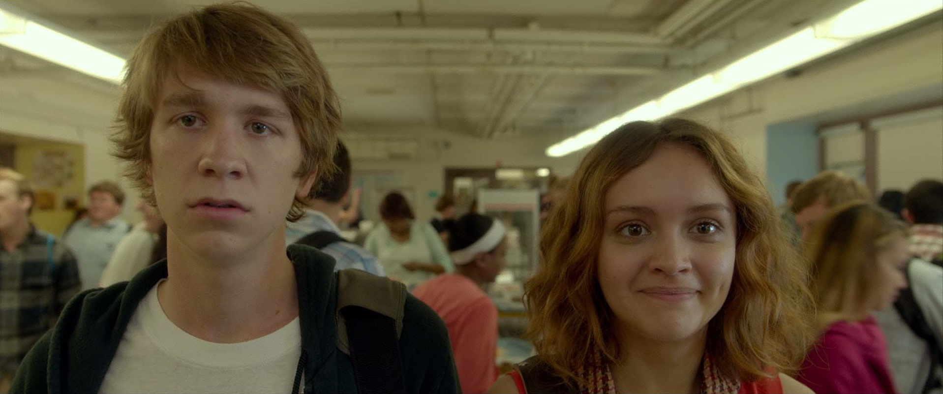 thomas mann and olivia cooke ME AND EARL AND THE DYING GIRL