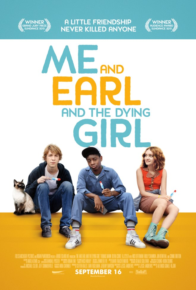 ME AND EARL AND THE DYING GIRL _from book to movie