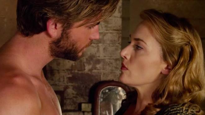 Liam Hemsworth and Kate Winslet THE DRESSMAKER