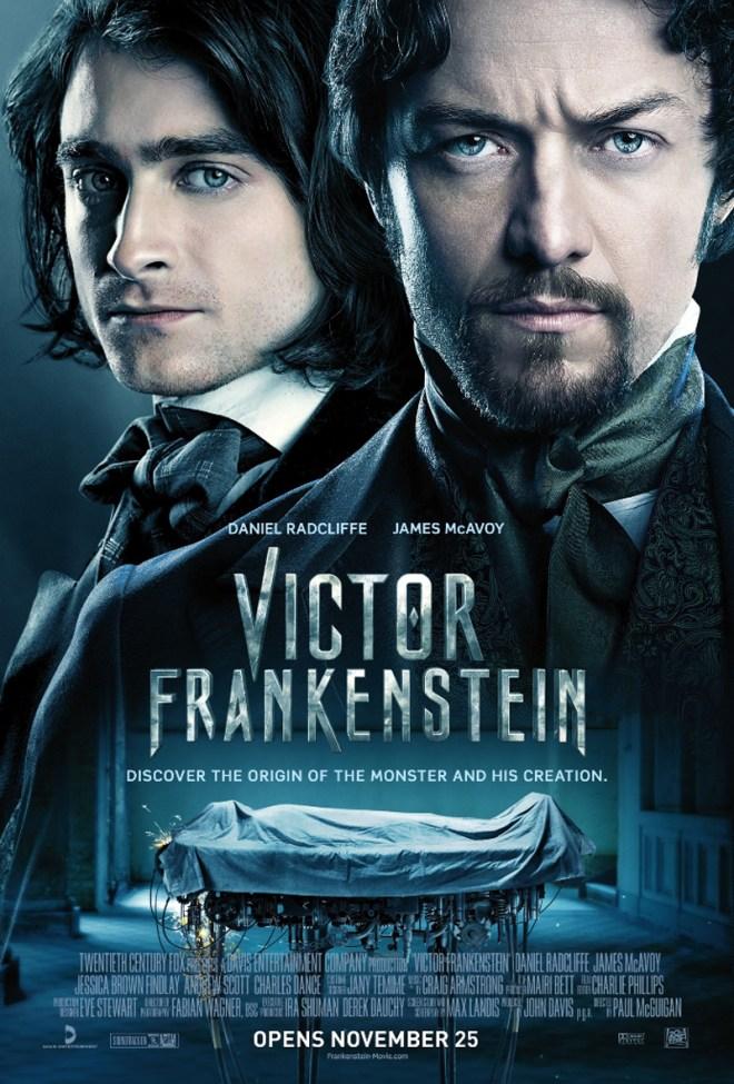 VictorFrankenstein_poster