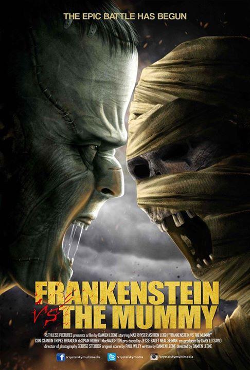 4 Frankenstein Vs The Mummy
