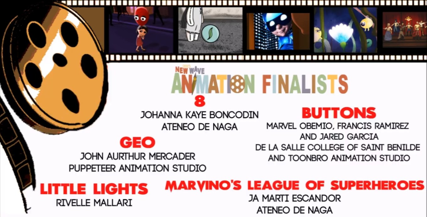 New Wave Animation Finalists