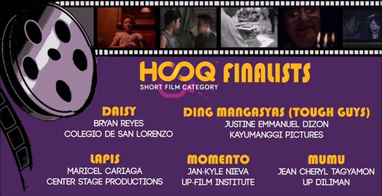 New Wave HOOQ Short Film Finalists