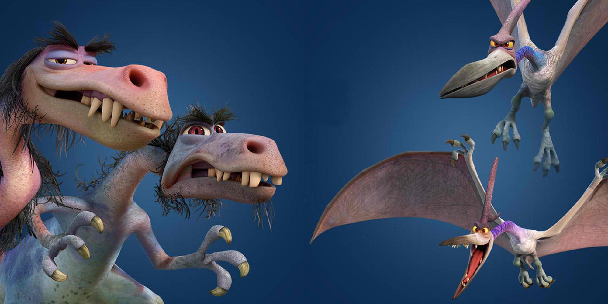 TGD-Raptors-Pterodactyls