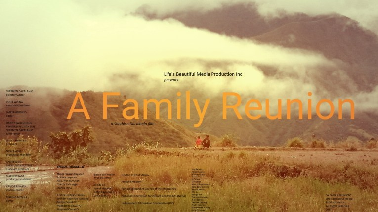 A Family Reunion Poster