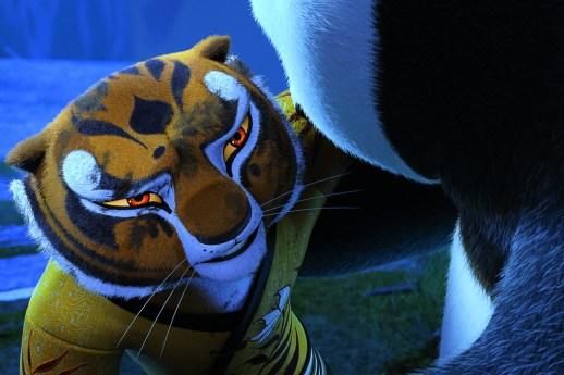 angelina jolie pitt as tigress in KUNG FU PANDA 3