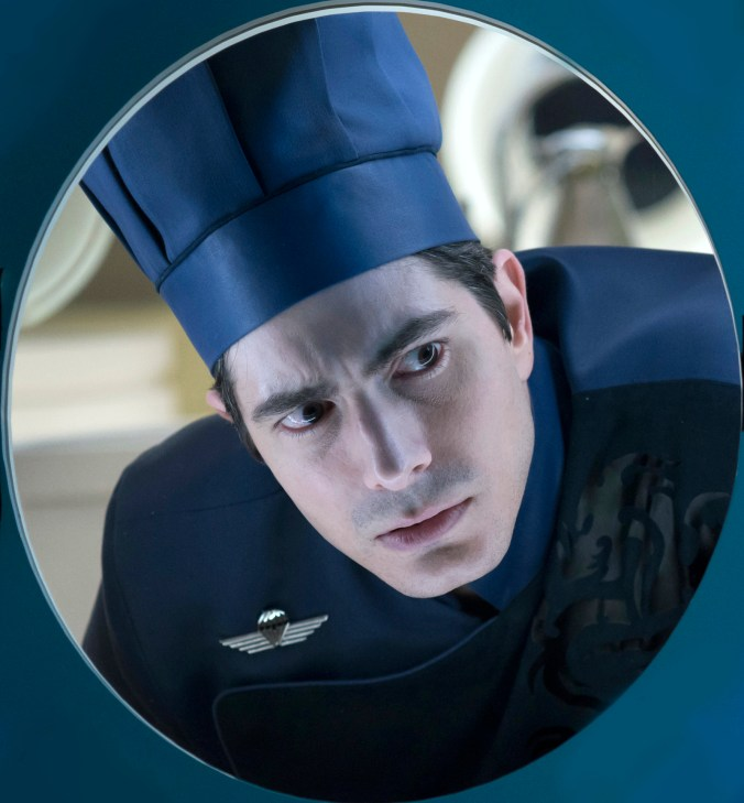 brandon routh in LOST IN THE PACIFIC