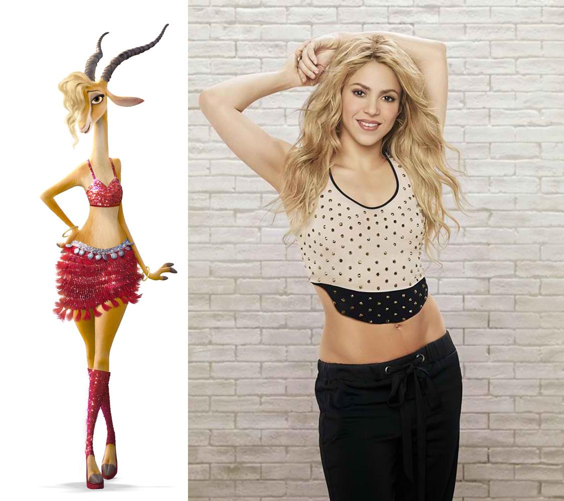 Gazelle-Shakira