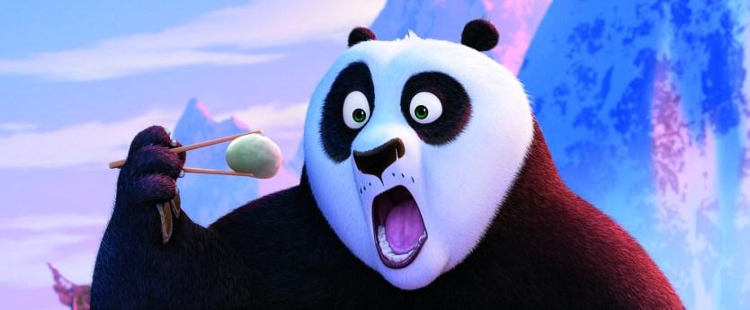 jack black reprises voice role as Po in KUNG FU PANDA 3