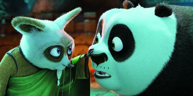 master Shifu and Po in KUNG FU PANDA 3
