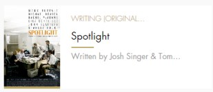 Original Screenplay Spotlight