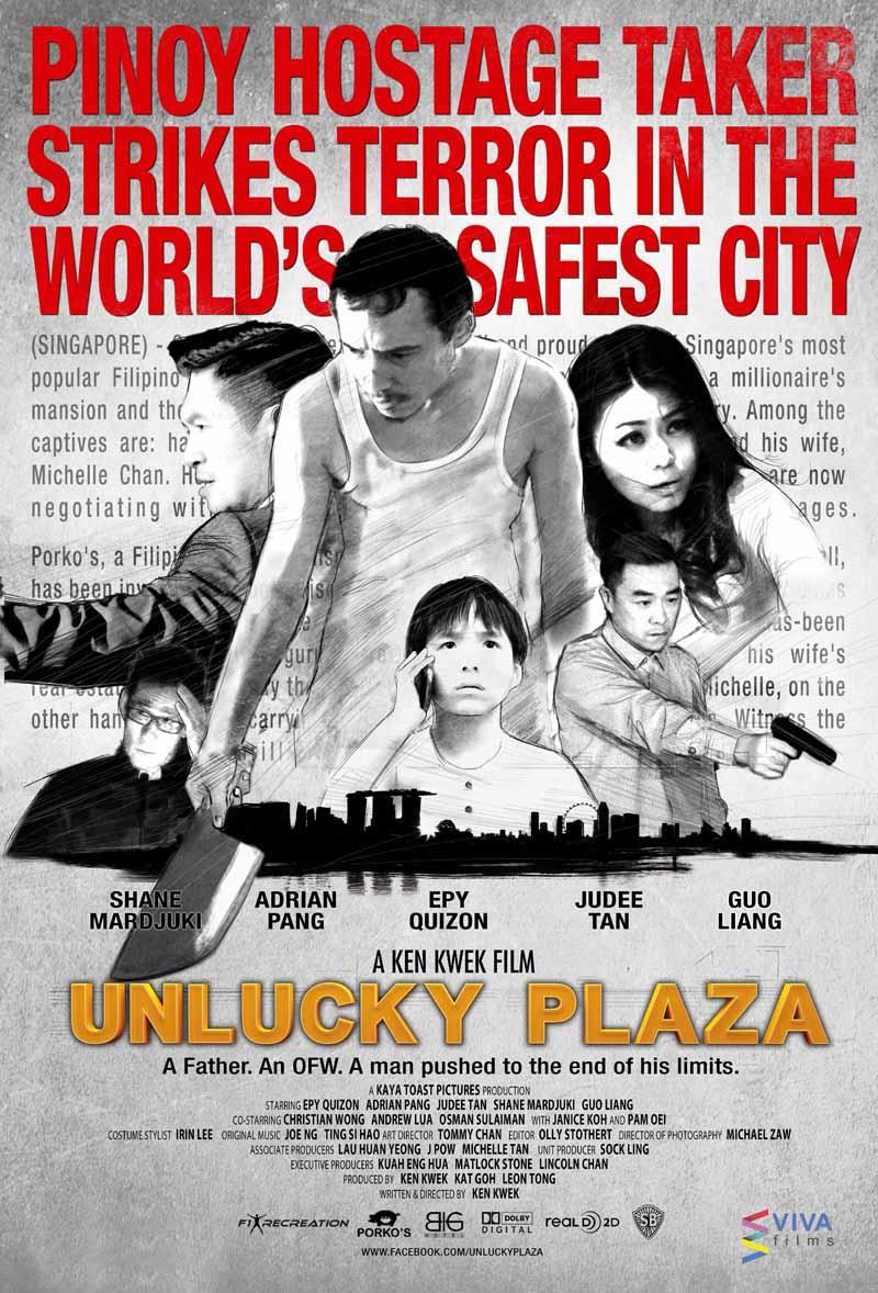 UNLUCKY PLAZA Poster