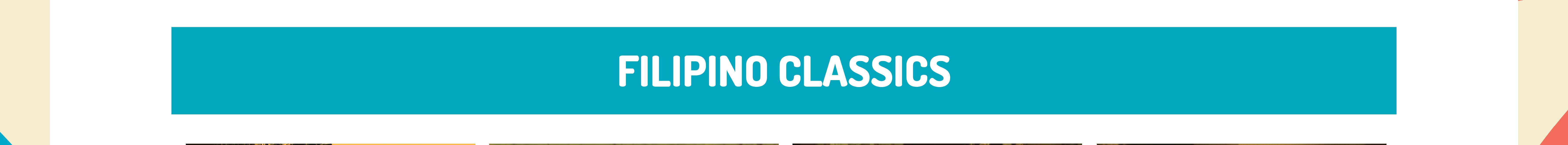 Banner Filipino Classics