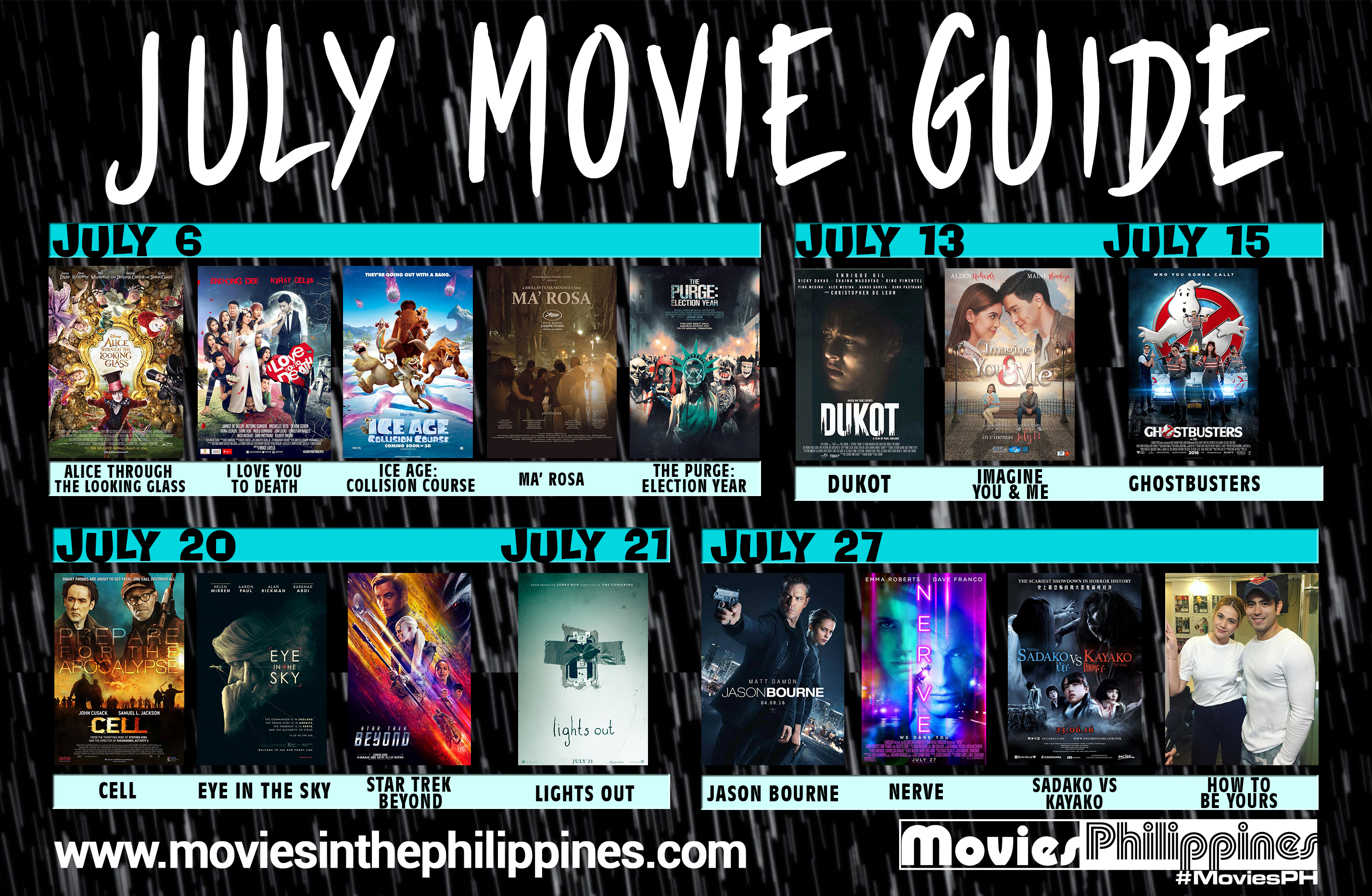 July Movie Guide