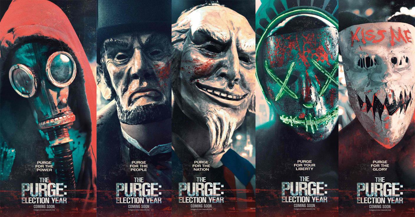 Purge Posters