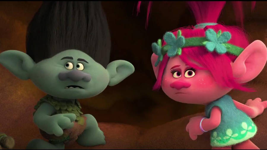 JUSTIN TIMBERLAKE AND ANNA KENDRICK voices in TROLLS