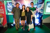 Secretary Rene Almendras and family at U.P. Town Center cinemas