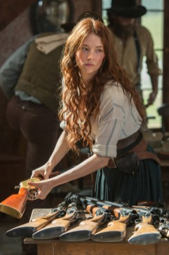 Haley Bennett in Metro-Goldwyn-Mayer Pictures and Columbia Pictures' THE MAGNIFICENT SEVEN.