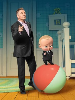Alec Baldwin voices THE BOSS BABY
